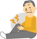 ひざの痛み イメージ画像